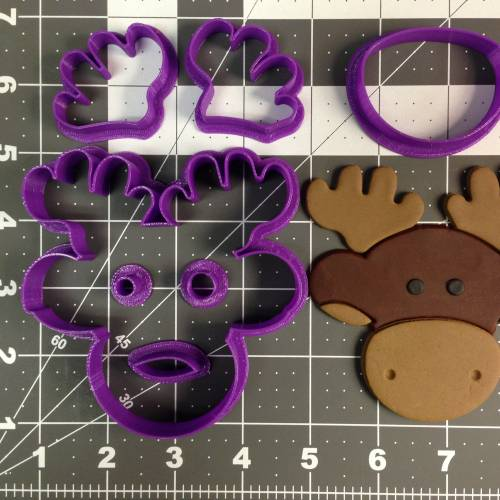 Moose Cookie Cutter Set
