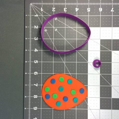 Easter Egg 103 Cookie Cutter Set